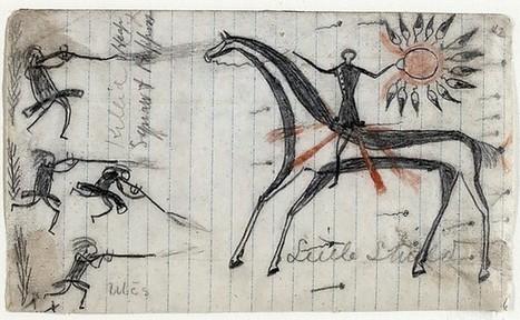 Little Shield   Drawings of Exploits in Battle   Arapaho   The Metropolitan Museum of Art   Vers les hauteurs   Scoop.it