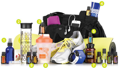 Gym Bag Makeover | Essential Oils | Scoop.it
