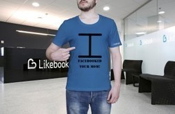 "Five T-Shirts you need if you've a Facebook compulsion. Like it ! | The Likebook Blog | ""Social Media"" 