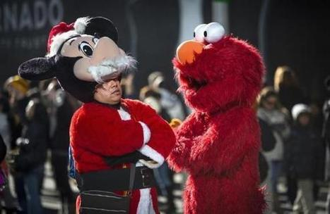 Times Square Costume Characters Raise Legal Issues For NYC, Disney - International Business Times | Mascots in the news | Scoop.it