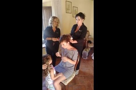 Acconciature matrimonio capelli sciolti Siena, Arezzo | Sam's | Acconciature e Make Up Sposa Chianciano - Siena » Sam's | Scoop.it