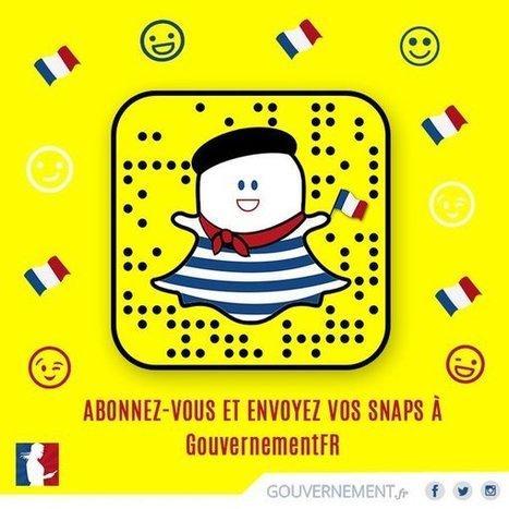 Pourquoi gouvernement.fr a décidé d'aller sur Snapchat (et quelles leçons nous en tirons) | Actualité Social Media : blogs & réseaux sociaux | Scoop.it