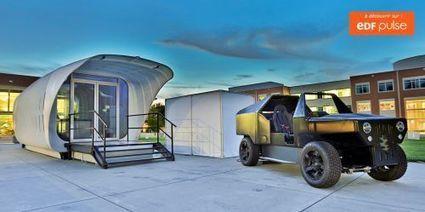Une maison solaire et une voiture électrique partagent leur énergie | Des idées, des outils pour un batiment durable | Scoop.it