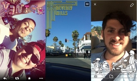 Snapchat Opens Geofilters So Anyone Can Submit Location-Based Artwork | Location Analytics And Intelligence | Scoop.it