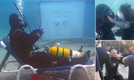 British diver sets new world record for the longest warm-water scuba dive by spending almost 50 hours on the sea floor | All about water, the oceans, environmental issues | Scoop.it