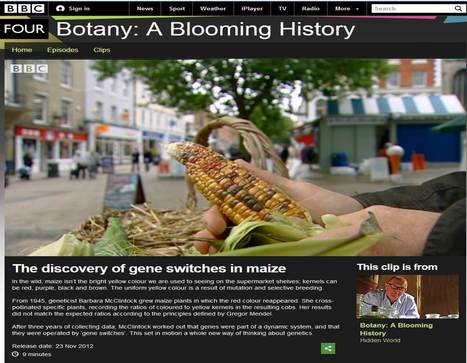 """Clips from """"Botany a Blooming History"""" 