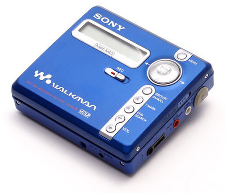 Digital Music News - The MiniDisc. 1992-2013... | What's happening on the Digital Music Industry | Scoop.it