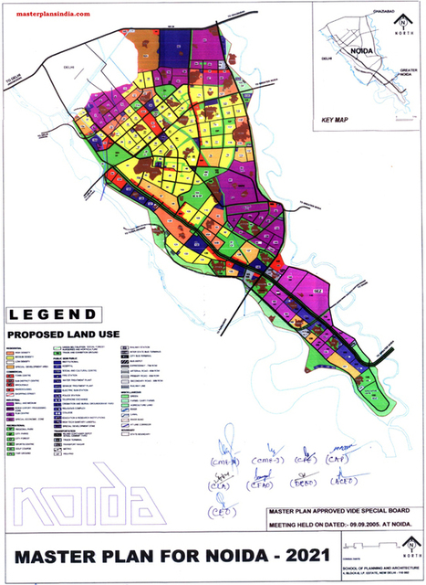 Noida Master Development Plan 2021 Map - Master Plans India | Daddydealer - Real Estate News, Events, New Project Launches & Happenings | Scoop.it