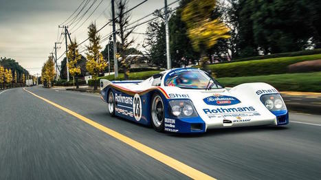 Driving a Porsche 962C on the Street is One of the Greatest Things I've Ever Seen | Motor Verso Car News | Scoop.it