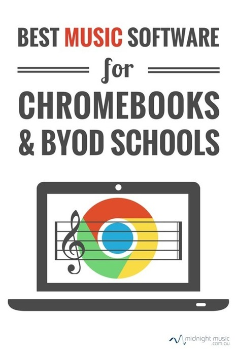 Best Music Software for Chromebooks & BYOD Schools | Musica primaria | Scoop.it