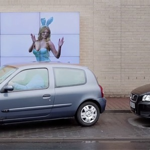 Billboard Helps Drivers Park | Cool techie stuff | Scoop.it