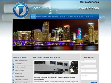 Personal Injury Lawyer Services in Miami | Best Miami Personal Injury Lawyer | Scoop.it
