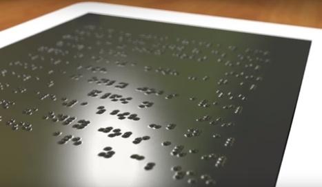 Desarrollan una Tablet para personas con discapacidad visual | teletrabajo y otros recursos | Scoop.it