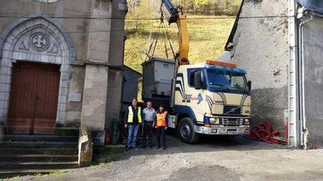 Livraison d'un poste électrique à Aspin-Aure le 12 novembre 2014 - Tweet from @erdf_pyr_land | Vallée d'Aure - Pyrénées | Scoop.it