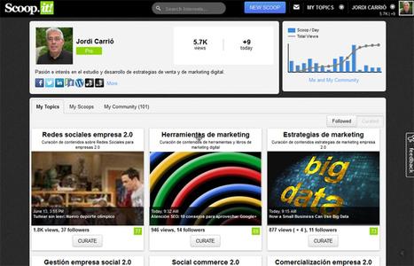 Gestión y curación de contenidos: herramientas y metodología | Scoop.it en la Red | Scoop.it