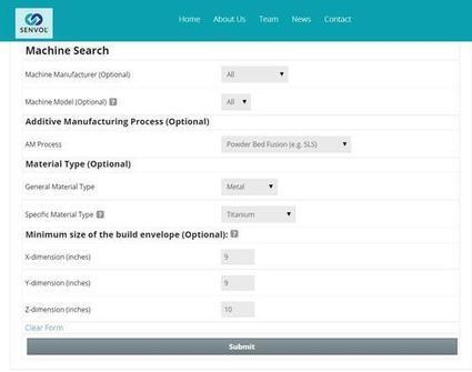 Design News - Engineering Materials - Free 3D Printing Database of Industrial Machines & Materials | US Engineering | Scoop.it