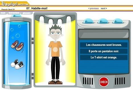 Au kiosque du FLE: Les vêtements: activités FLE | Français | Scoop.it