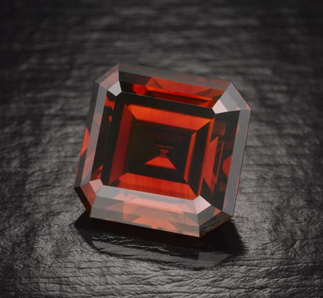 Mysterious, Rare Red Diamond on Display -LiveScience   Our Earth's Geology, Minerals & Gemstones   Scoop.it