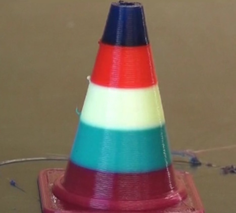 A Kaleidoscope of Colors With The CollideOScope Multi-Filament 3D Print Head   3D Printing in Manufacturing Today   Scoop.it
