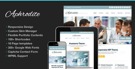 Aphrodite v1.7 - Responsive Corporate Business Portfolio - Yocto Templates | YOCTO WordPress Themes & Plugins | Scoop.it