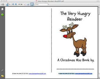 Rudolph---the Smartboard, and a very cool printable book | Speech-Language Pathology | Scoop.it