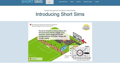 Clark Aldrich On Short Sims As The Next Stage Of Serious Games | SERIOUS GAMES MARKET | Games and education | Scoop.it