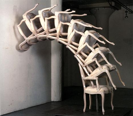 Arman:  Spinal Cord | Art Installations, Sculpture, Contemporary Art | Scoop.it
