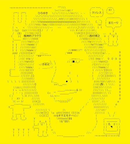 Art and ASCII: The Stories Behind All Those Brackets, Slashes, and Carets | ASCII Art | Scoop.it