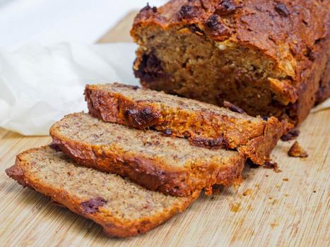One Bowl Vegan Gluten-Free Banana Bread with Dark Chocolate Chips | My Vegan recipes | Scoop.it