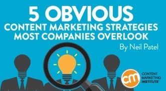 5 Obvious Content Marketing Strategies Most Companies Overlook | digital marketing strategy | Scoop.it