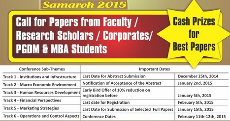 Samaroh 2015 | MBA college Hyderabad | Scoop.it