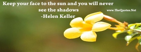 Facebook Cover Image - Helen Keller Quote - TheQuotes.Net | Facebook Cover Photos | Scoop.it