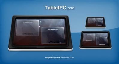 Plantilla de Tablet para Photoshop PSD | Plantilla | Antruck | Scoop.it