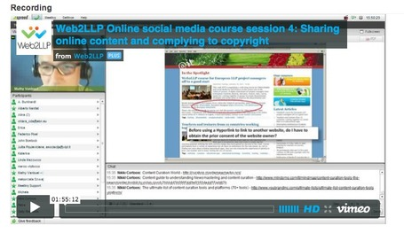 Web2LLP webinar: Sharing online content and complying to copyright | TELT | Scoop.it