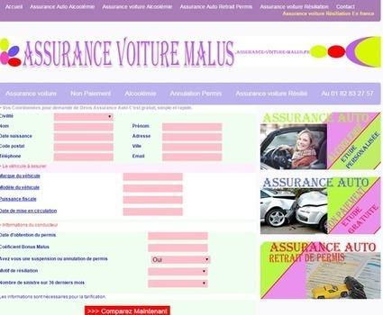 Des formules Assurance Voiture Malus pour les particuliers résiliés | assurance-voiture-malus.fr | Scoop.it