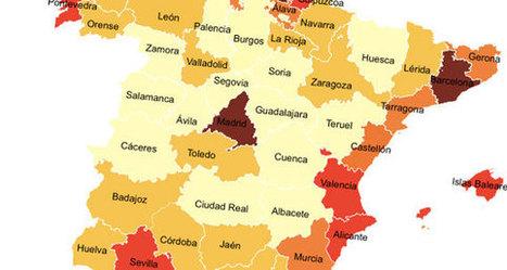 La 'Siberia española': un país desigual en política, economía… y deporte | Recursos de Geografia | Scoop.it