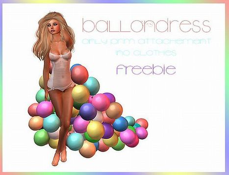Balloondress by June Trenkins | Teleport Hub | imvu and second life | Scoop.it