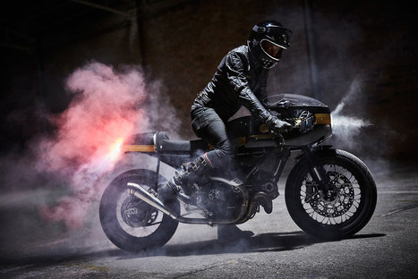 The Strada 800: Fuel's retro Ducati cafe racer | Ductalk Ducati News | Scoop.it