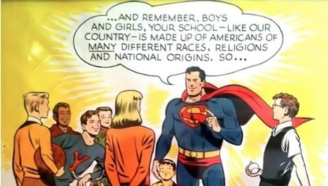 1950 Superman Poster Urged Kids to DEFEND ALL Americans, Regardless of Their Race, Religion or National Origin | Le BONHEUR comme indice d'épanouissement social et économique. | Scoop.it