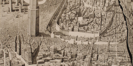 10 Wildly Detailed Drawings Of Fictional Cityscapes That Will Make Your Head Spin   Architecture and Design   Scoop.it