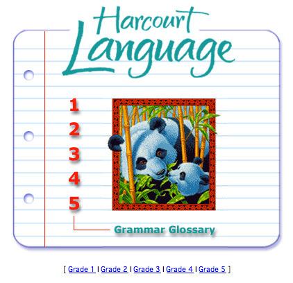 Harcourt Language - Grammar Glossary | TEFL & Ed Tech | Scoop.it
