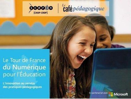 Tour de France du Numérique pour l'Éducation ou pour Microsoft ? | CaféAnimé | Scoop.it