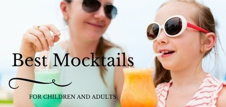 Cheesesticks :: Fun Mocktails for Kids and Adults to Enjoy | Gourmet Snacks | Scoop.it