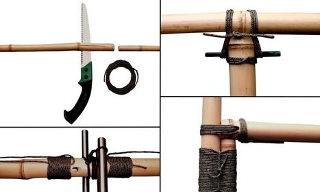 Techniques d'assemblage spécial bambou | L'Etablisienne, un atelier pour créer, fabriquer, rénover, personnaliser... | Scoop.it