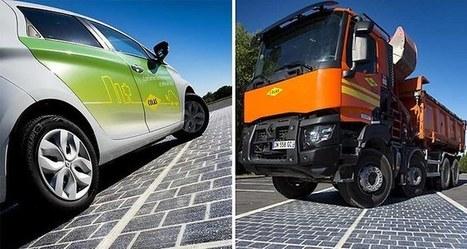 Quand la route devient centrale photovoltaïque, une première mondiale française | Rennes - transition énergétique | Scoop.it