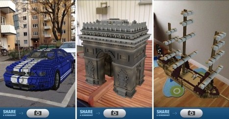 Augmented 'Minecraft Reality' Distorts Virtual Bricks and Real-Life Spaces | Wired Design | Wired.com | RA - UNLP 2013 | Scoop.it