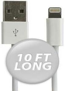 IPHONE & IPAD 10 FT. LIGHTNING TO USB SYNC & CHARGE CABLE 32200 | AVC Distributor | Games and Accessories Store | Scoop.it