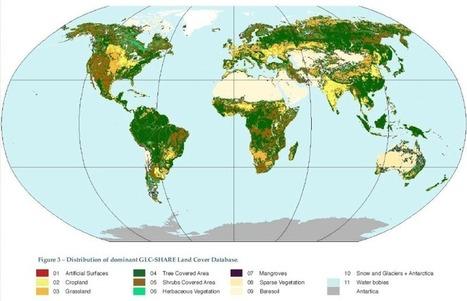 Cartographie actualisée de l'occupation du sol de notre planète - notre-planete.info | Développement agricole et rural | Scoop.it