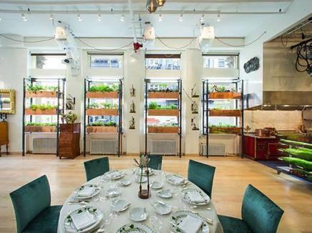 L?orto verticale? Si trova al ristorante Viaggio al «Botanical» di New ... - Corriere della Sera | Coltivare l'orto | Scoop.it