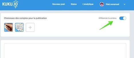 Kuku. Nouvel outil pour publier sur les différents réseaux sociaux | Les outils de la veille | Les outils du Web 2.0 | Scoop.it